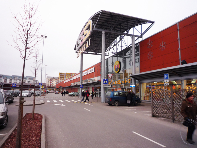 Prekybos centras BANGINIS Vilniuje