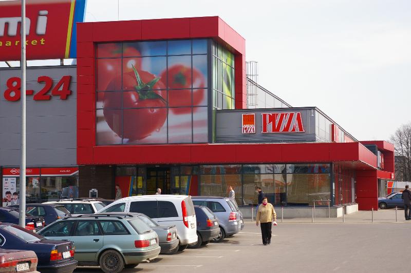 RIMI prekybos centro rekonstrukcija Marijampolėje