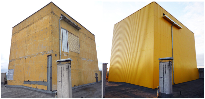 Daugiabučio namo Architektų g. antstogio renovacija
