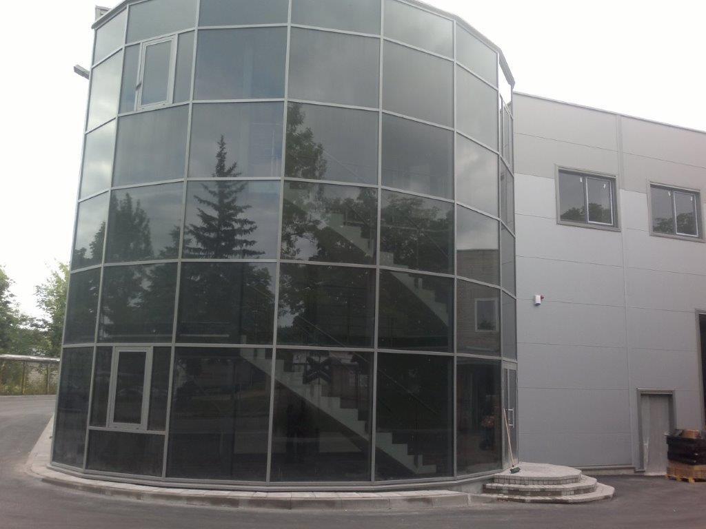 Sandėliavimo paskirties pastatas su administracinėmis patalpomis, Vilniuje